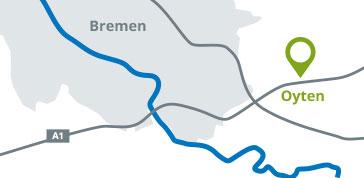 Wo liegt das Planungs- und Ingenieurbüro IDN Ingenieur-Dienst-Nord Dr. Lange - Dr. Anselm GmbH in Oyten