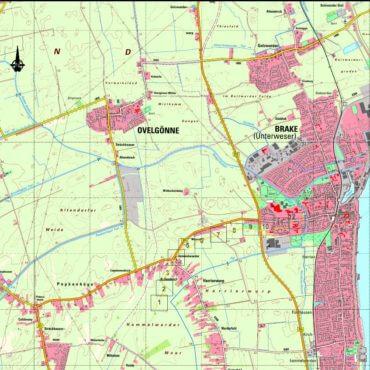 Windpark Hammelwarder Moor Planung Kabeltrasse/Verrohrung und Verlegung von Gewässern IDN-Projekt 5367