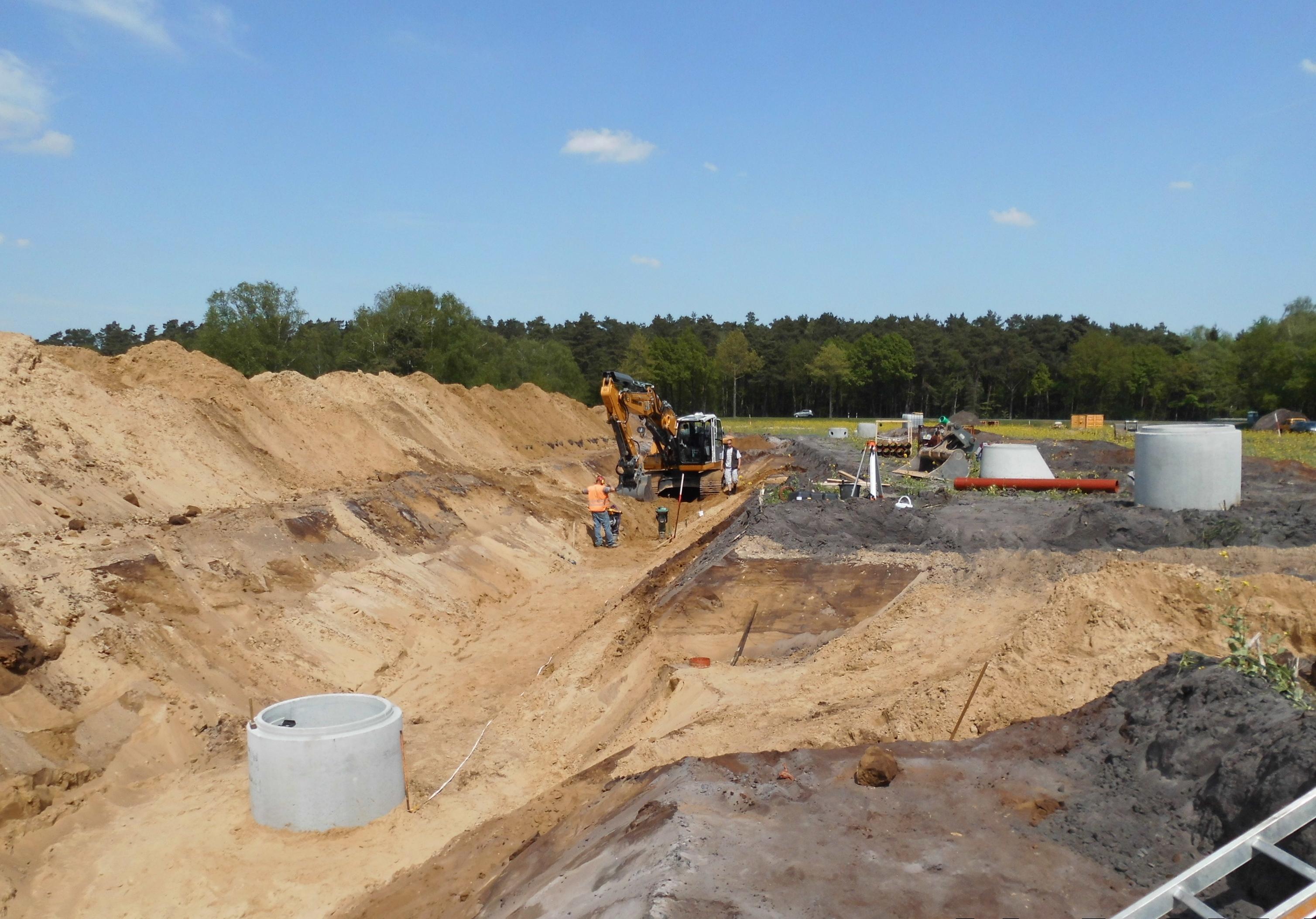 Erschließung Baugebiet Scheeßeler Weg in der Gemeinde Brockel IDN-Projekt 5397