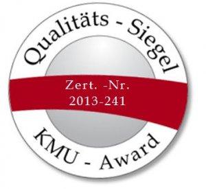 KMU-Award Qualitäts-Siegel IDN
