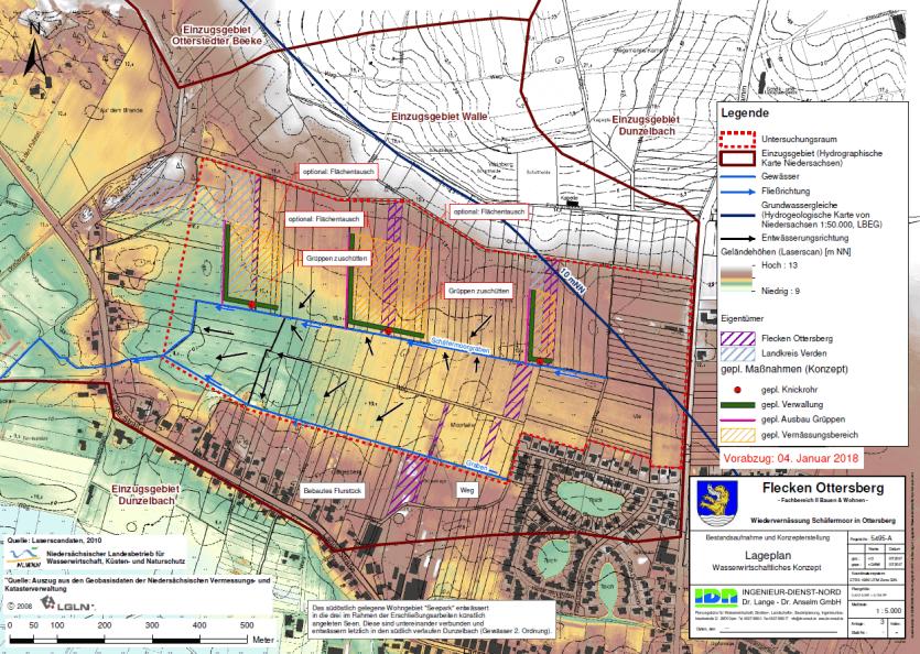 Wiedervernässung Schäfermoor in Ottersberg - IDN Referenz