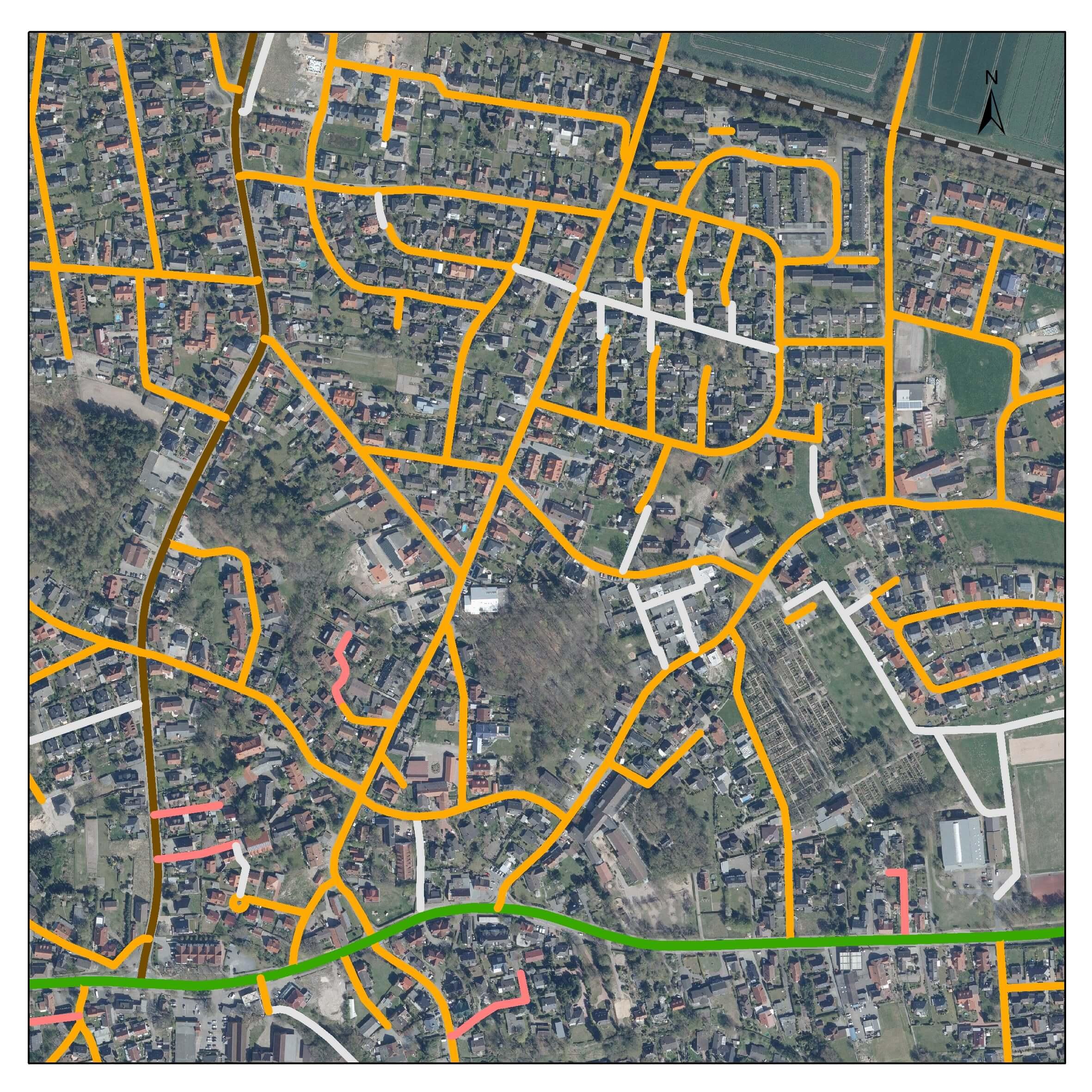 Straßenkataster in Achim - IDN Referenz