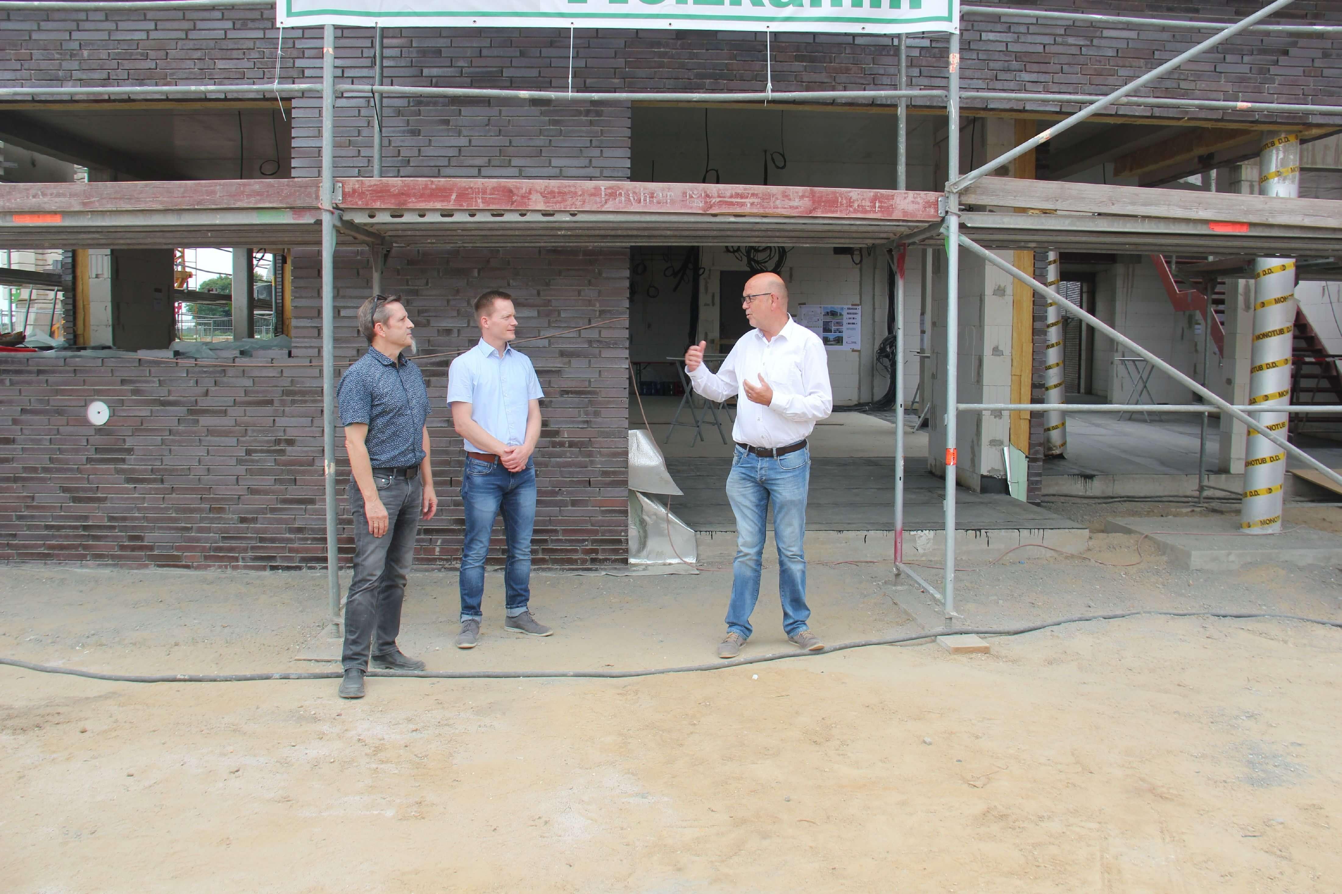 IDN-Richtfest-Neubau